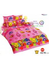 ชุดเครื่องนอนคิวตี้หมีพูห์ Disney Cuties Pooh Bear TOTO ผ้าปูที่นอน ผ้านวม ลิขสิทธิ์แท้โตโต้ CU75