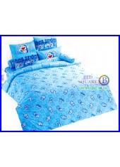 ผ้าปูที่นอนโตโต้ ผ้านวม ลายโดราเอมอน Doraemon DM04 ชุดเครื่องนอน TOTO