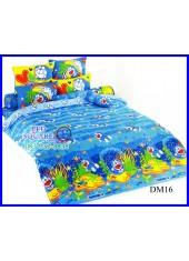 ผ้าปูที่นอนโตโต้ ผ้านวม ลายโดราเอมอน Doraemon DM16 ชุดเครื่องนอน TOTO