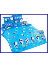 ผ้าปูที่นอนโตโต้ ผ้านวม ลายโดราเอมอน Doraemon DM32 ชุดเครื่องนอน TOTO