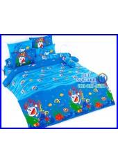 ผ้าปูที่นอนโตโต้ ผ้านวม ลายโดราเอมอน Doraemon DM33 ชุดเครื่องนอน TOTO