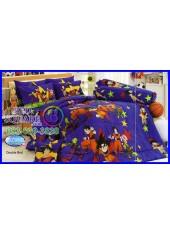 ผ้าปูที่นอนทิวลิป ผ้านวม ลายดราก้อนบอล Dragon Ball Z BZ002 ชุดเครื่องนอน Tulip