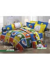 ผ้าปูที่นอนผ้านวม กันไรฝุ่น กันภูมิแพ้ ลายมิฟฟี่ Miffy JC009 พื้นสีเหลือง Jessica