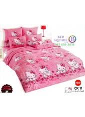 ชุดเครื่องนอนชาร์มมี่ คิตตี้ สีชมพู Charmmy Kitty TOTO ผ้าปูที่นอน ผ้านวม ลิขสิทธิ์แท้โตโต้ CK11