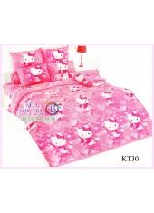 ผ้าปูที่นอนผ้านวมลายเฮลโลคิตตี้ Hello Kitty KT30 ชุดเครื่องนอน TOTO