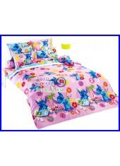 ผ้าปูที่นอนผ้านวมลายสติช Stitch ST08 ชุดเครื่องนอน TOTO