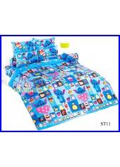 ผ้าปูที่นอนผ้านวมลายสติช Stitch ST11 ชุดเครื่องนอน TOTO