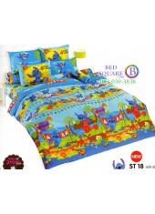 ชุดเครื่องนอนลีโล่ แอนด์ สติทช์ Lilo & Stitch TOTO ผ้าปูที่นอน ผ้านวม ลิขสิทธิ์แท้โตโต้ ST18