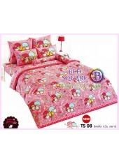 ผ้าปูที่นอนผ้านวมลายลิตเติ้ลทวินสตาร์ Little Twin Stars TS08 - TOTO