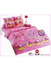 ผ้าปูที่นอนผ้านวมลายลิตเติ้ลทวินสตาร์ Little Twin Stars TS09 - TOTO