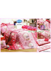 ผ้าปูที่นอนทิวลิป ผ้านวม ลายมาชิมาโร่ Mashimaro M12 ชุดเครื่องนอน Tulip