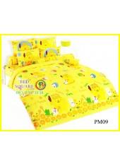 ผ้าปูที่นอนผ้านวมลายปอมปอมปูริน Pom Pom Purin PM09 ชุดเครื่องนอน TOTO