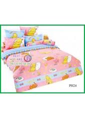 ผ้าปูที่นอนผ้านวมลายการ์ตูนหมีพูห์ Pooh Bear PH24 ชุดเครื่องนอน TOTO