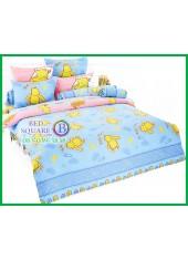 ผ้าปูที่นอนผ้านวมลายการ์ตูนหมีพูห์ Pooh Bear PH25 ชุดเครื่องนอน TOTO
