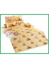 ผ้าปูที่นอนผ้านวมลายการ์ตูนหมีพูห์ Pooh Bear PH55 ชุดเครื่องนอน TOTO
