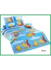 ผ้าปูที่นอนผ้านวมลายการ์ตูนหมีพูห์ Pooh Bear PH56 ชุดเครื่องนอน TOTO