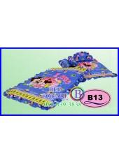 ที่นอนเด็กเล็ก เด็กอ่อน ซาติน ลาย Mickey & Minnie ลิขสิทธิ์แท้ B13 ชุดเครื่องนอน SATIN