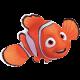 ผ้าปูที่นอนลาย Nemo