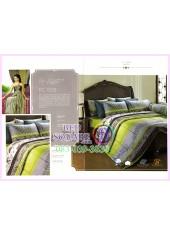 ผ้าปูที่นอน ผ้านวม พรีเมียร์ซาติน Cotton 100% PREMIER SATIN PC008