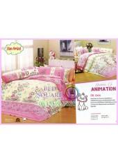 ชุดผ้าปูที่นอน ผ้าปูที่นอนผ้านวมลายแมวมารี Marie SATIN PK044