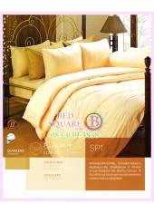 ผ้าปูที่นอน ผ้านวม พรีเมียร์ซาติน PREMIER SATIN SP1 สีเหลืองครีม