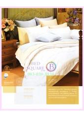 ผ้าปูที่นอน ผ้านวม พรีเมียร์ซาติน PREMIER SATIN SP5 สีพื้น สีขาว