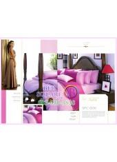ผ้าปูที่นอน ผ้านวม พรีเมียร์ซาติน Satin Royal Touch Cotton 100% PREMIER SATIN SPC006 สีพื้น สีชมพู