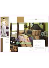 ผ้าปูที่นอน ผ้านวม พรีเมียร์ซาติน Satin Royal Touch Cotton 100% PREMIER SATIN SPC010 สีพื้น สีน้ำตาล