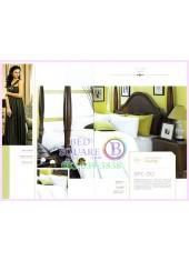 ผ้าปูที่นอน ผ้านวม พรีเมียร์ซาติน Satin Royal Touch Cotton 100% PREMIER SATIN SPC012 สีพื้น สีขาว