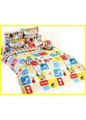 ผ้าปูที่นอน 6 ฟุตลายสนู๊ปปี้ ลดพิเศษ 500 บาทเท่านั้น!!! Snoopy SP11