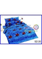 ผ้าปูที่นอนผ้านวมลายสไปเดอร์แมน Spider Man SD20 ชุดเครื่องนอน TOTO