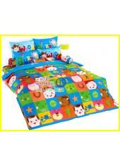ผ้าปูที่นอนผ้านวมลายทอยสตอรี่ Toy Story TY01 ชุดเครื่องนอน TOTO