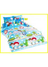 ผ้าปูที่นอนผ้านวมลายทอยสตอรี่ Toy Story TY04 ชุดเครื่องนอน TOTO