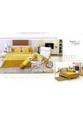 ผ้าปูที่นอนผ้านวม ทิวลิป ดีไลท์ DL001 ชุดเครื่องนอน Tulip Delight