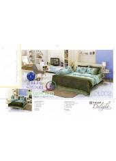 ผ้าปูที่นอนผ้านวม ทิวลิป ดีไลท์ DL002 ชุดเครื่องนอน Tulip Delight