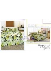 ผ้าปูที่นอนผ้านวม ทิวลิป ดีไลท์ DL003 ชุดเครื่องนอน Tulip Delight