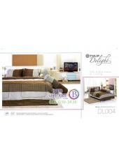 ผ้าปูที่นอนผ้านวม ทิวลิป ดีไลท์ DL004 ชุดเครื่องนอน Tulip Delight
