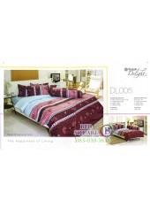 ผ้าปูที่นอนผ้านวม ทิวลิป ดีไลท์ DL005 ชุดเครื่องนอน Tulip Delight