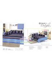 ผ้าปูที่นอนผ้านวม ทิวลิป ดีไลท์ DL006 ชุดเครื่องนอน Tulip Delight