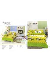 ผ้าปูที่นอนผ้านวม ทิวลิป ดีไลท์ DL008 ชุดเครื่องนอน Tulip Delight