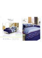 ผ้าปูที่นอนผ้านวม ทิวลิป ดีไลท์ DL010 ชุดเครื่องนอน Tulip Delight