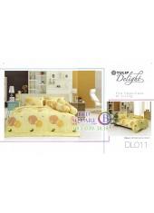 ผ้าปูที่นอนผ้านวม ทิวลิป ดีไลท์ DL011 ชุดเครื่องนอน Tulip Delight