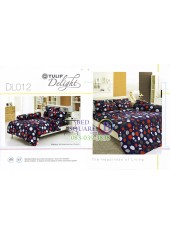 ผ้าปูที่นอนผ้านวม ทิวลิป ดีไลท์ DL012 ชุดเครื่องนอน Tulip Delight