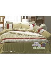 ผ้าปูที่นอนผ้านวม ทิวลิป ดีไลท์ DL015 ชุดเครื่องนอน Tulip Delight