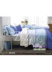ผ้าปูที่นอนผ้านวม ทิวลิป ดีไลท์ DL016 ชุดเครื่องนอน Tulip Delight