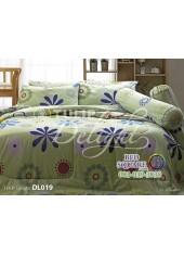 ผ้าปูที่นอนผ้านวม ทิวลิป ดีไลท์ DL019 ชุดเครื่องนอน Tulip Delight